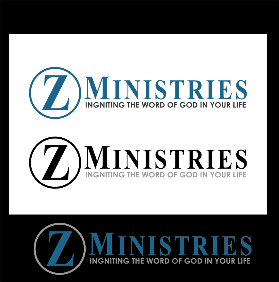 Logo Design by Ngepet_art - Entry No. 68 in the Logo Design Contest Artistic Logo Design for Z Ministries.