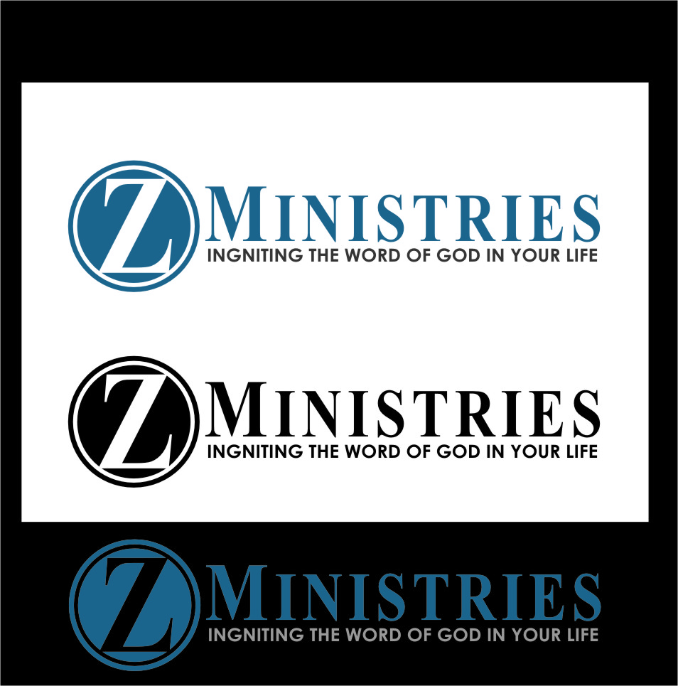 Logo Design by Ngepet_art - Entry No. 69 in the Logo Design Contest Artistic Logo Design for Z Ministries.