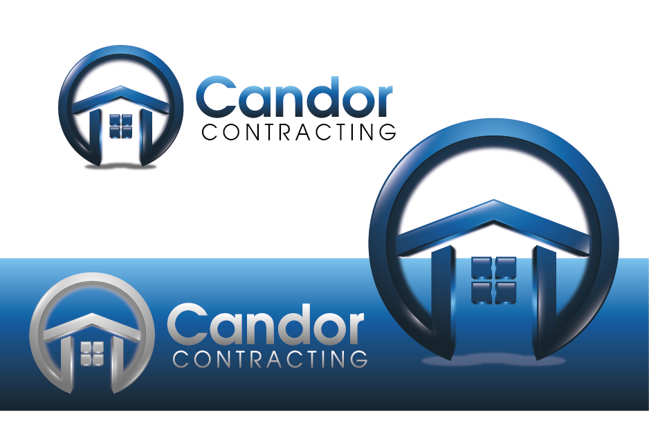 Logo Design by Private User - Entry No. 19 in the Logo Design Contest Unique Logo Design Wanted for Candor Contracting.