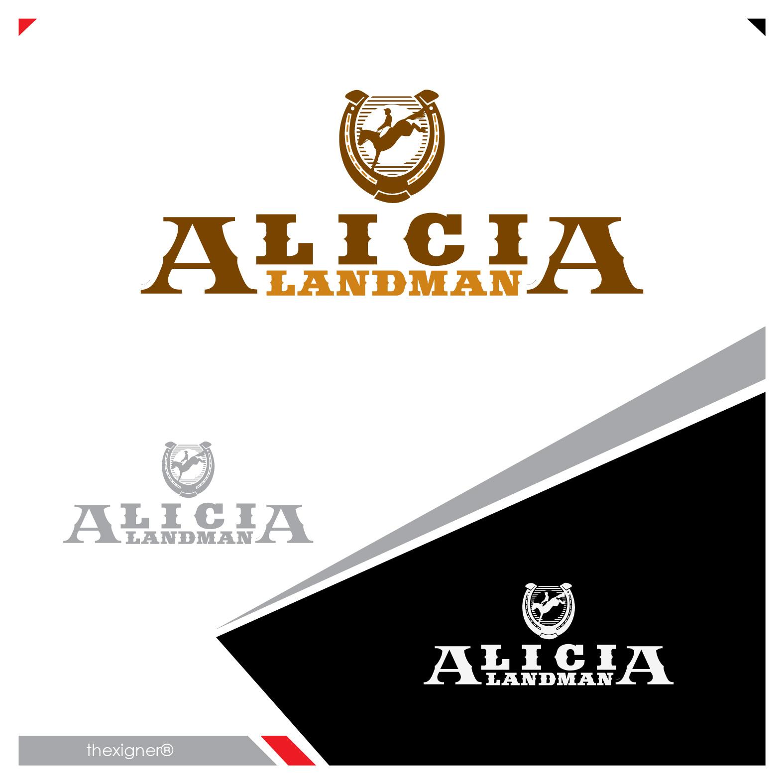 Logo Design by lagalag - Entry No. 17 in the Logo Design Contest Fun Logo Design for Alicia Landman.