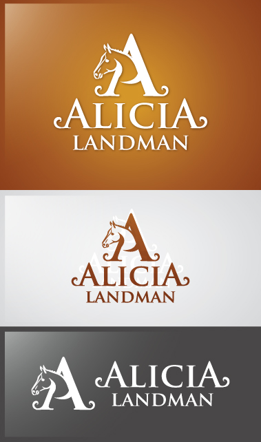 Logo Design by Creasian - Entry No. 19 in the Logo Design Contest Fun Logo Design for Alicia Landman.