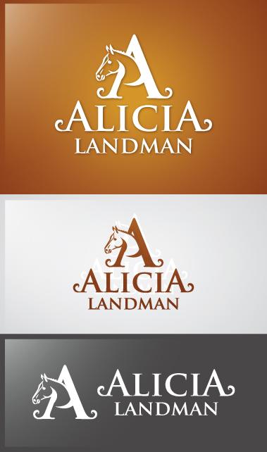 Logo Design by Creasian - Entry No. 19 in the Logo Design Contest Fun Logo Design for Alicia Landman.