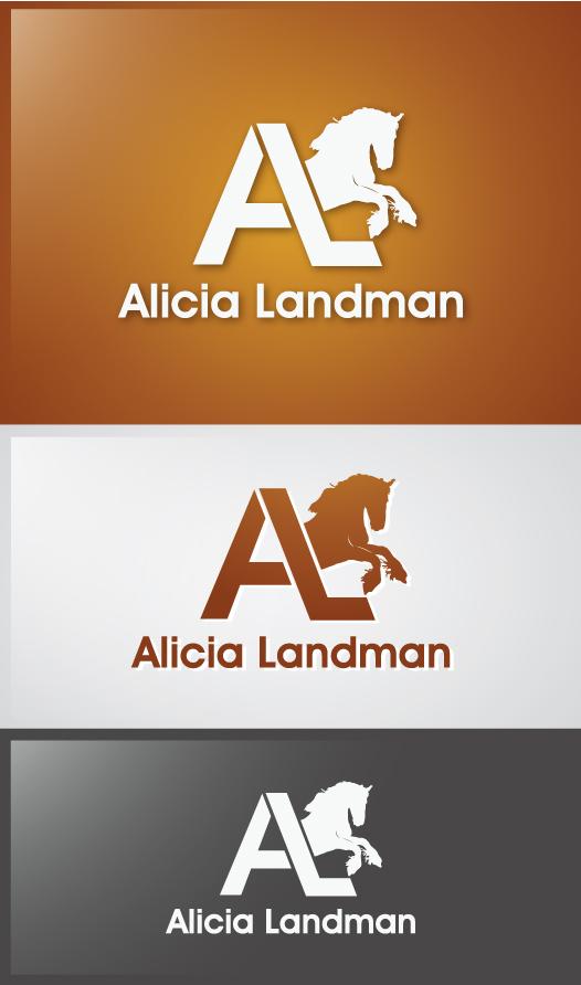 Logo Design by Creasian - Entry No. 21 in the Logo Design Contest Fun Logo Design for Alicia Landman.