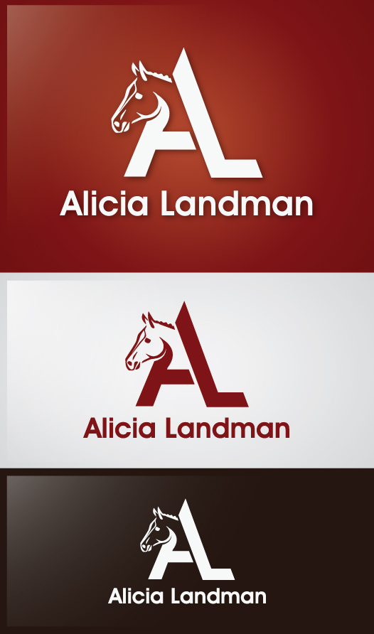 Logo Design by Creasian - Entry No. 22 in the Logo Design Contest Fun Logo Design for Alicia Landman.