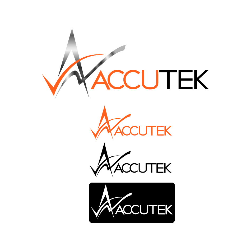 Logo Design by Renee Winfield - Entry No. 91 in the Logo Design Contest Accutek Industries Ltd..