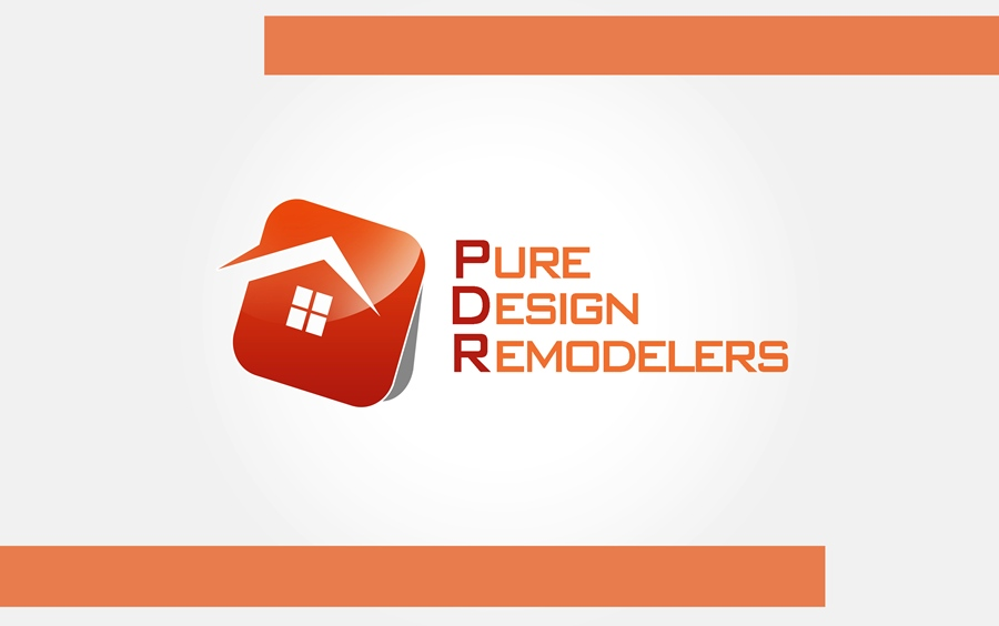 Logo Design by Respati Himawan - Entry No. 41 in the Logo Design Contest Custom Logo Design for Pure Design Remodelers.