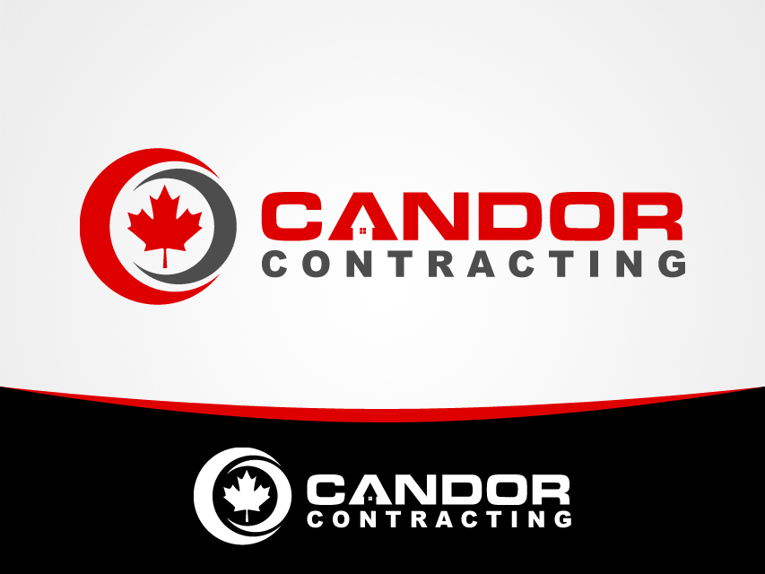 Logo Design by Richard Soriano - Entry No. 23 in the Logo Design Contest Unique Logo Design Wanted for Candor Contracting.