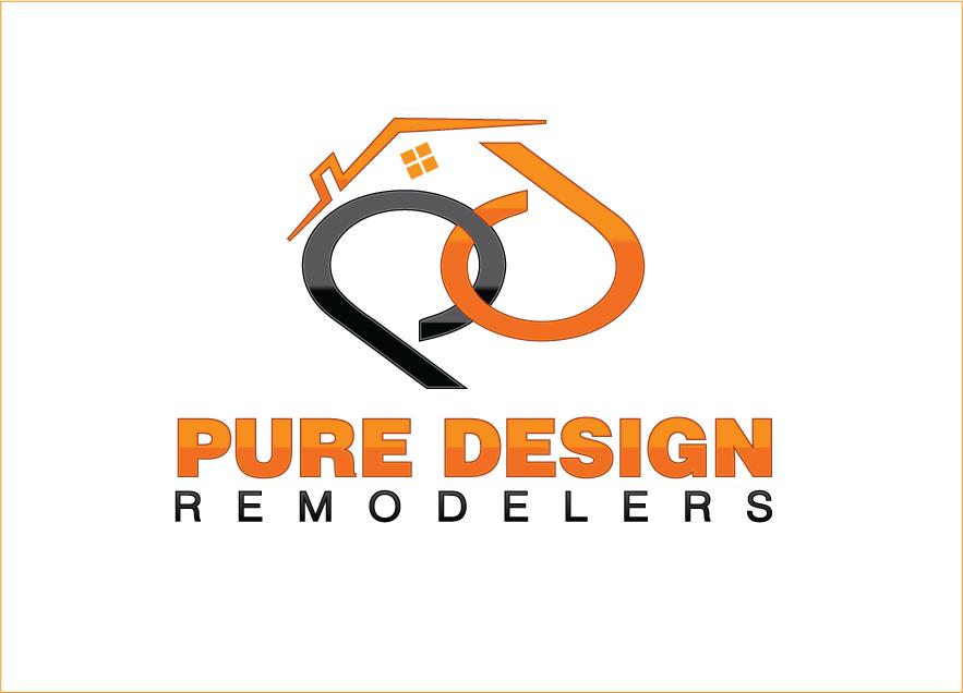 Logo Design by Sri Lata - Entry No. 44 in the Logo Design Contest Custom Logo Design for Pure Design Remodelers.