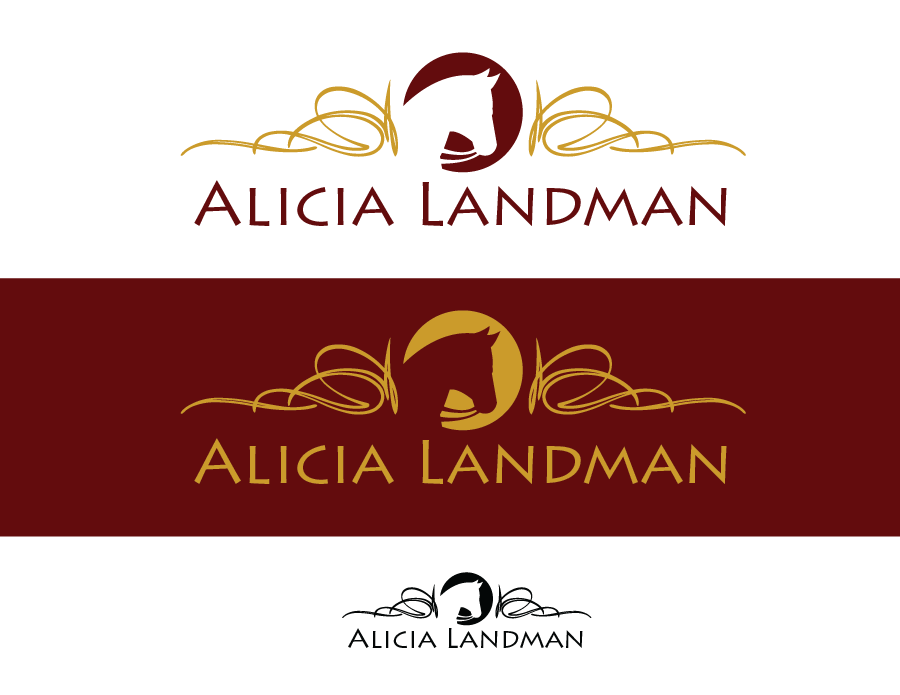 Logo Design by Christina Evans - Entry No. 31 in the Logo Design Contest Fun Logo Design for Alicia Landman.