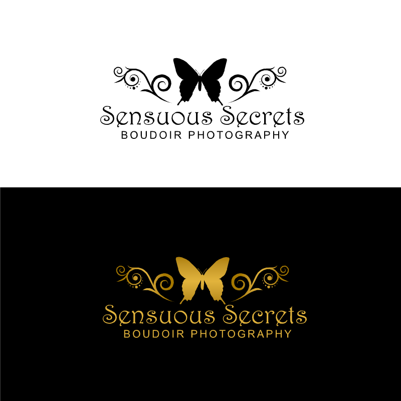 Logo Design by RAJU CHATTERJEE - Entry No. 7 in the Logo Design Contest Artistic Logo Design for Sensuous Secrets Boudoir Photography.