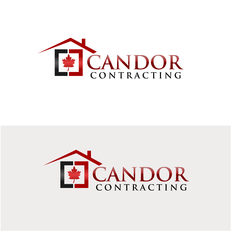 Logo Design by RAJU CHATTERJEE - Entry No. 32 in the Logo Design Contest Unique Logo Design Wanted for Candor Contracting.