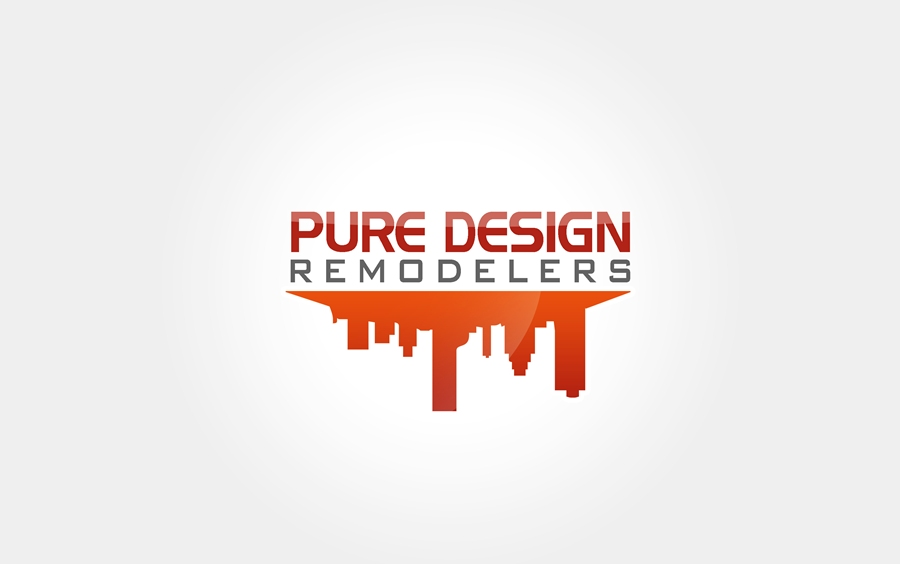 Logo Design by Respati Himawan - Entry No. 45 in the Logo Design Contest Custom Logo Design for Pure Design Remodelers.