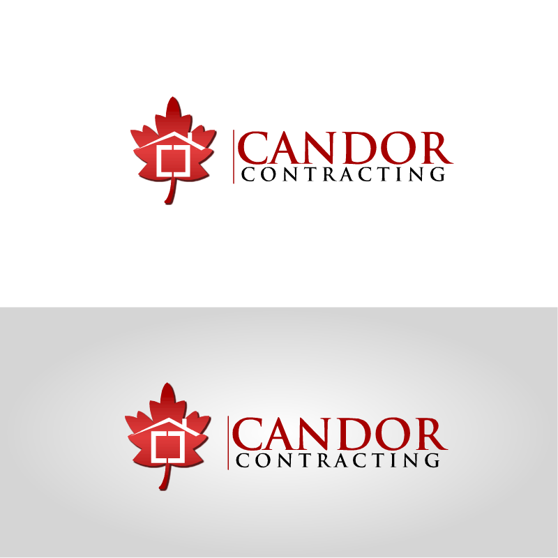 Logo Design by RAJU CHATTERJEE - Entry No. 34 in the Logo Design Contest Unique Logo Design Wanted for Candor Contracting.