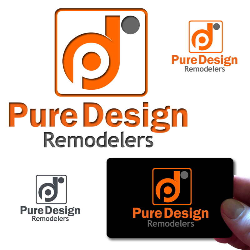 Logo Design by Private User - Entry No. 47 in the Logo Design Contest Custom Logo Design for Pure Design Remodelers.