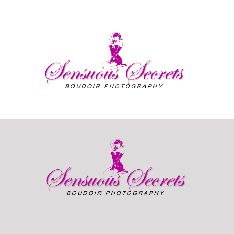 Logo Design by RAJU CHATTERJEE - Entry No. 9 in the Logo Design Contest Artistic Logo Design for Sensuous Secrets Boudoir Photography.