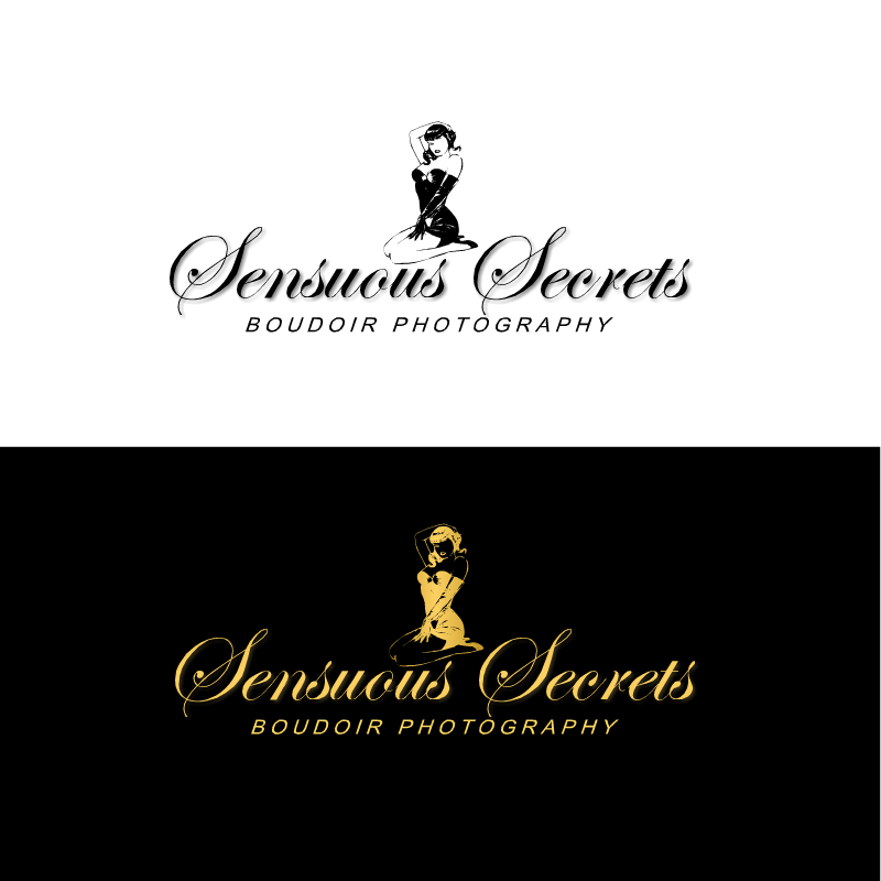 Logo Design by RAJU CHATTERJEE - Entry No. 10 in the Logo Design Contest Artistic Logo Design for Sensuous Secrets Boudoir Photography.
