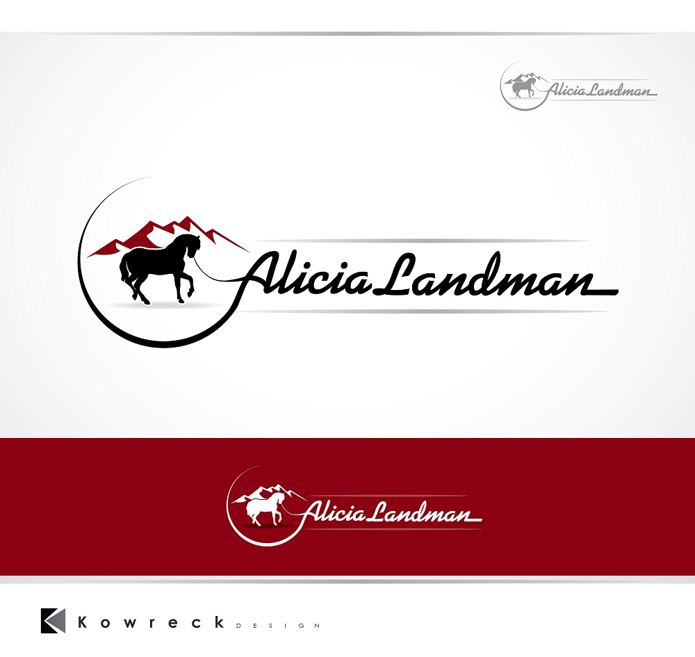 Logo Design by kowreck - Entry No. 35 in the Logo Design Contest Fun Logo Design for Alicia Landman.