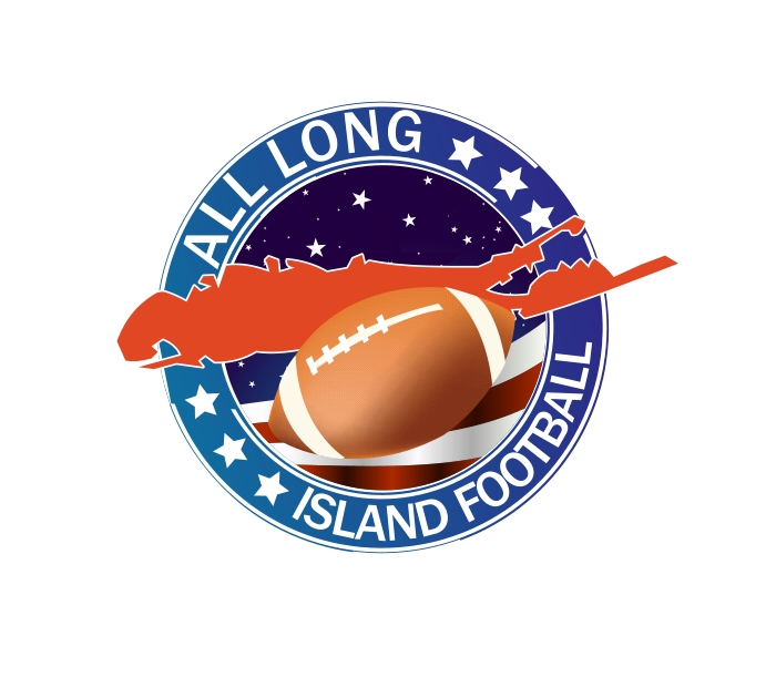 Logo Design by Private User - Entry No. 8 in the Logo Design Contest Unique Logo Design Wanted for ALL LONG ISLAND FOOTBALL.