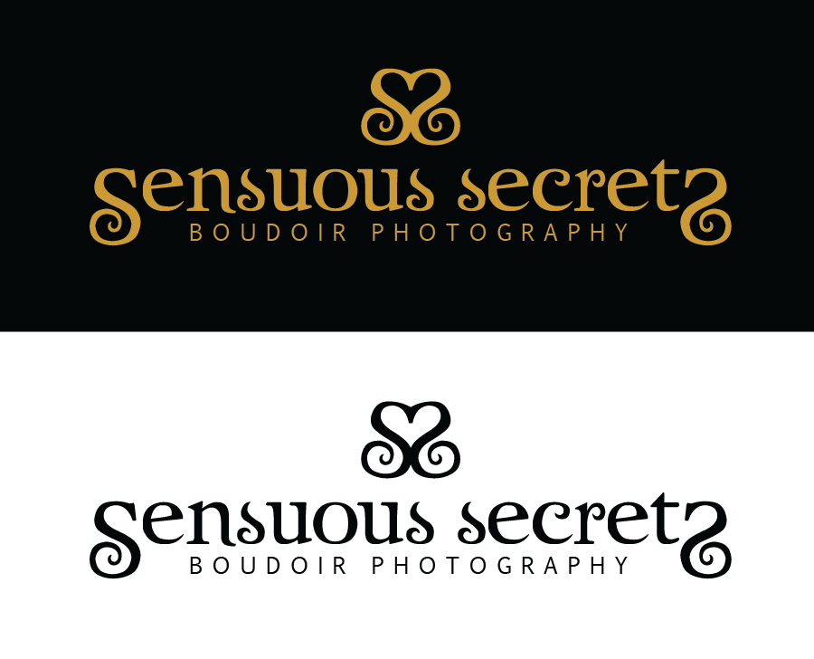 Logo Design by Christina Evans - Entry No. 12 in the Logo Design Contest Artistic Logo Design for Sensuous Secrets Boudoir Photography.