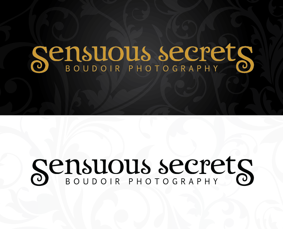 Logo Design by Christina Evans - Entry No. 13 in the Logo Design Contest Artistic Logo Design for Sensuous Secrets Boudoir Photography.