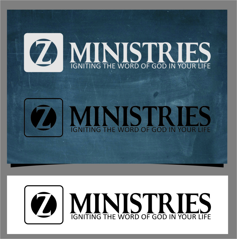Logo Design by Ngepet_art - Entry No. 81 in the Logo Design Contest Artistic Logo Design for Z Ministries.