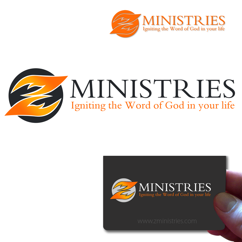 Logo Design by Private User - Entry No. 82 in the Logo Design Contest Artistic Logo Design for Z Ministries.