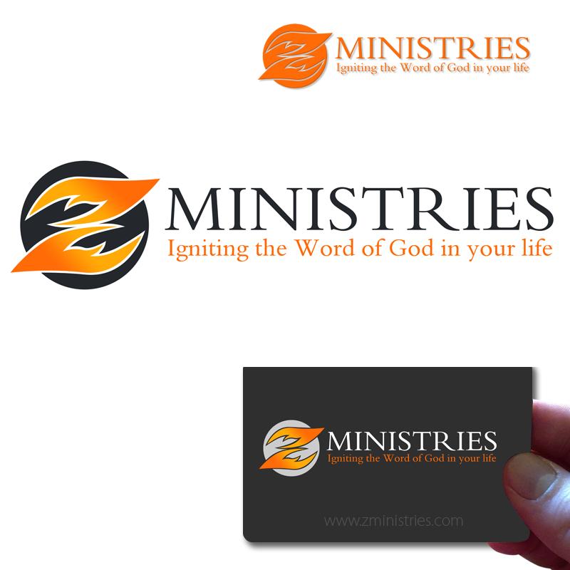 Logo Design by Private User - Entry No. 82 in the Logo Design Contest Artistic Logo Design for Z Ministries.