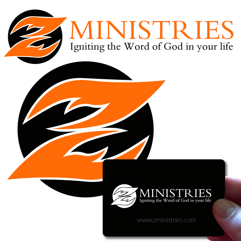 Logo Design by Robert Turla - Entry No. 83 in the Logo Design Contest Artistic Logo Design for Z Ministries.