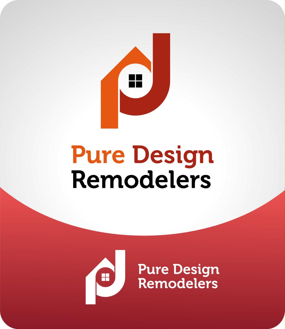 Logo Design by luvrenz - Entry No. 51 in the Logo Design Contest Custom Logo Design for Pure Design Remodelers.