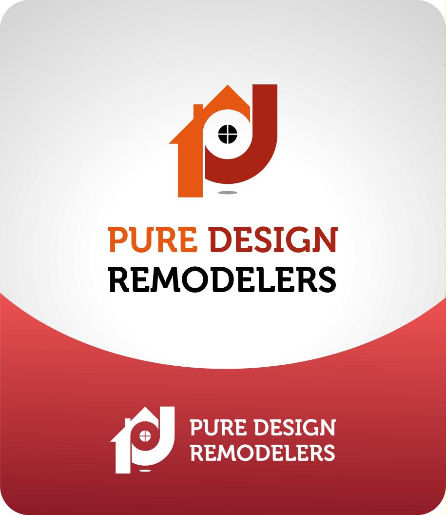 Logo Design by luvrenz - Entry No. 55 in the Logo Design Contest Custom Logo Design for Pure Design Remodelers.