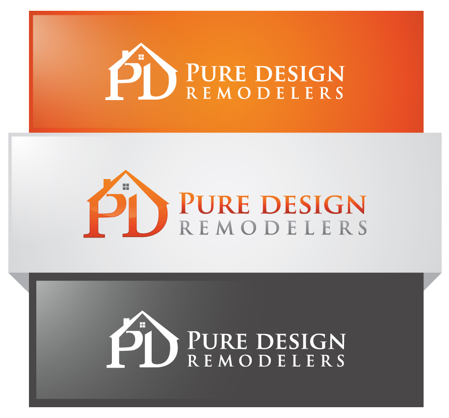 Logo Design by Creasian - Entry No. 56 in the Logo Design Contest Custom Logo Design for Pure Design Remodelers.