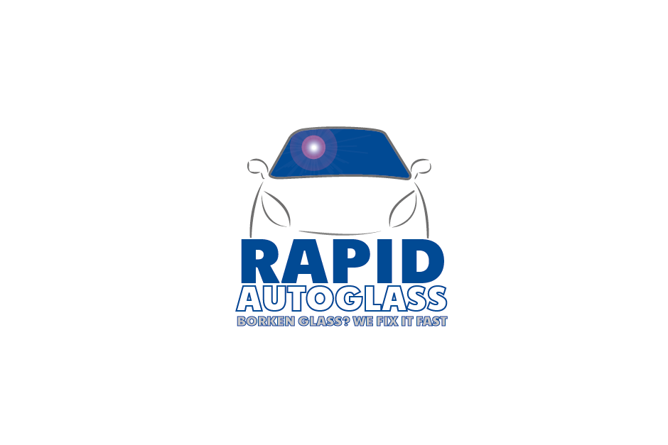 Logo Design by Private User - Entry No. 55 in the Logo Design Contest Unique Logo Design Wanted for Rapid Auto Glass.