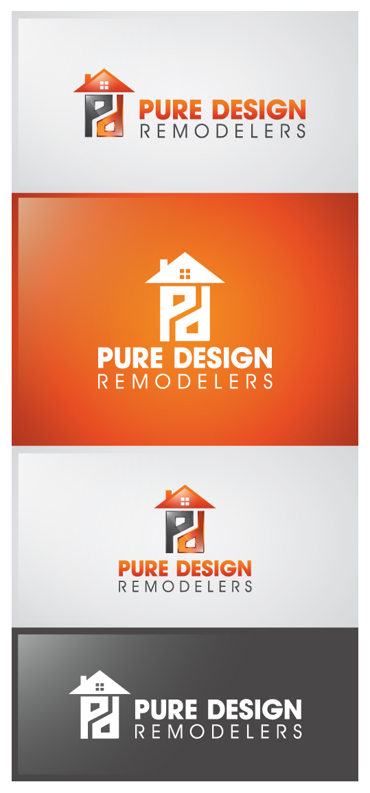 Logo Design by Creasian - Entry No. 57 in the Logo Design Contest Custom Logo Design for Pure Design Remodelers.