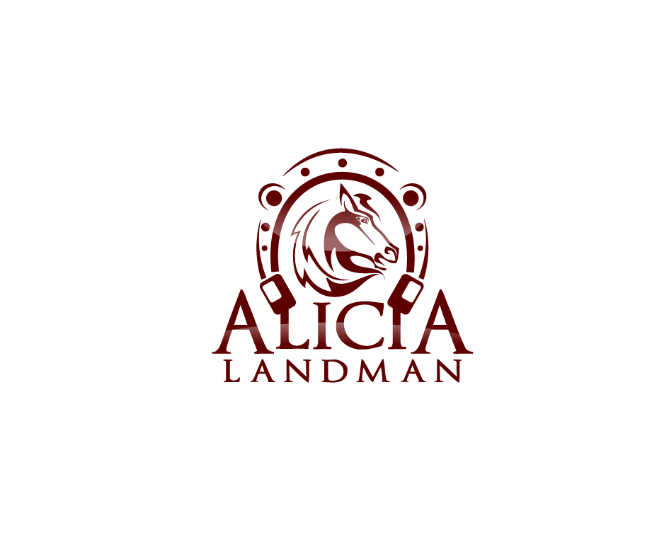 Logo Design by Yusuf Nurochim - Entry No. 40 in the Logo Design Contest Fun Logo Design for Alicia Landman.