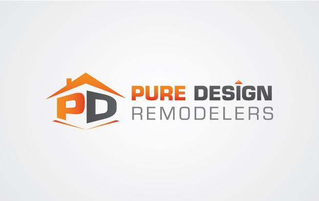 Logo Design by Creasian - Entry No. 58 in the Logo Design Contest Custom Logo Design for Pure Design Remodelers.