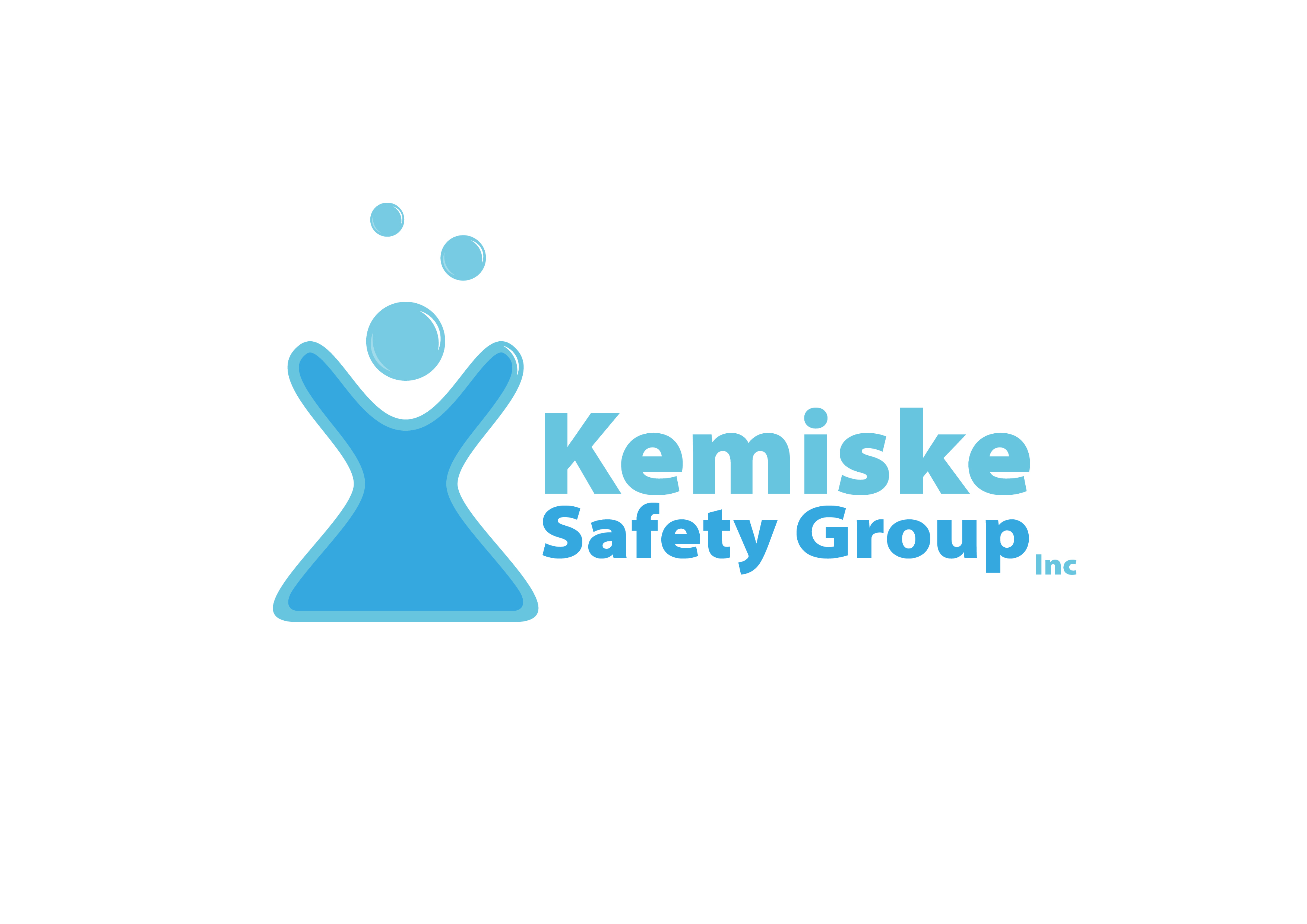 Logo Design by 3draw - Entry No. 154 in the Logo Design Contest New Logo Design for Kemiske Safety Group Inc..