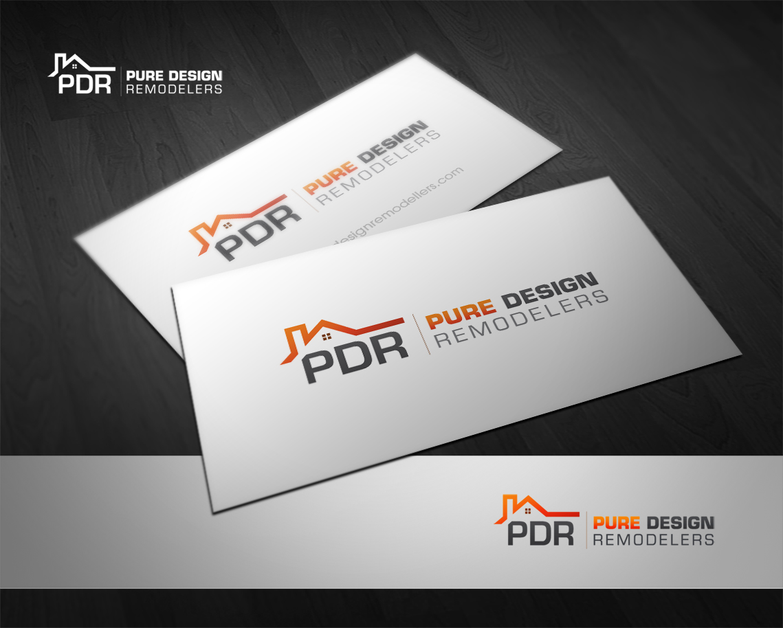 Logo Design by Creasian - Entry No. 59 in the Logo Design Contest Custom Logo Design for Pure Design Remodelers.