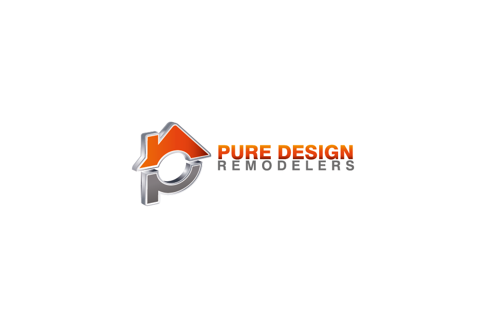 Logo Design by Private User - Entry No. 60 in the Logo Design Contest Custom Logo Design for Pure Design Remodelers.