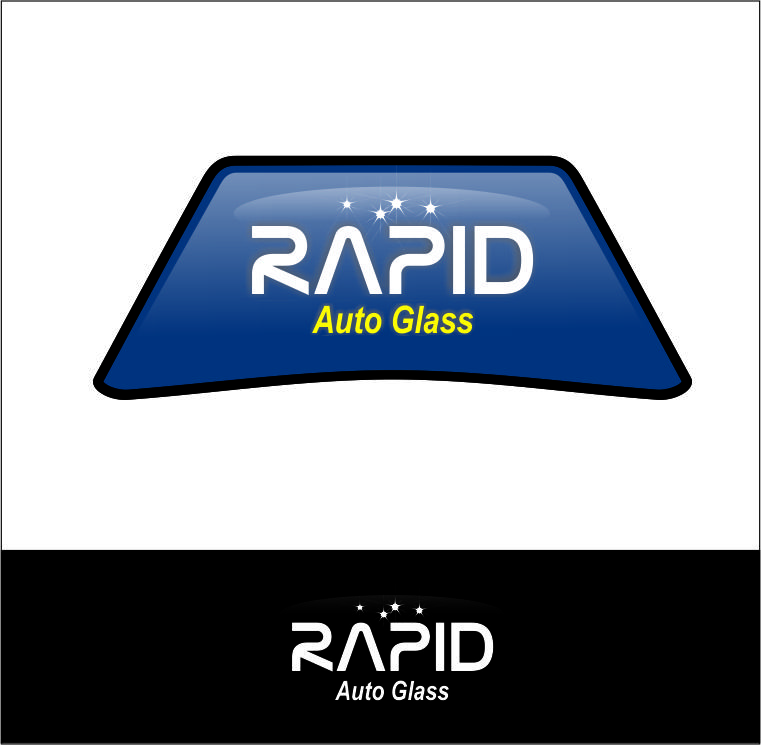 Logo Design by Agus Martoyo - Entry No. 60 in the Logo Design Contest Unique Logo Design Wanted for Rapid Auto Glass.