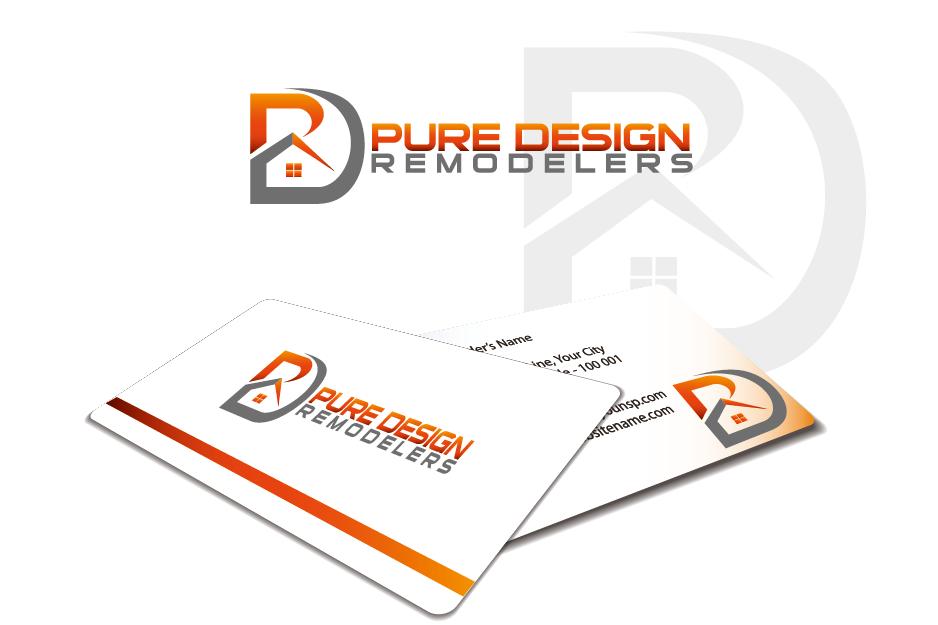Logo Design by Private User - Entry No. 61 in the Logo Design Contest Custom Logo Design for Pure Design Remodelers.