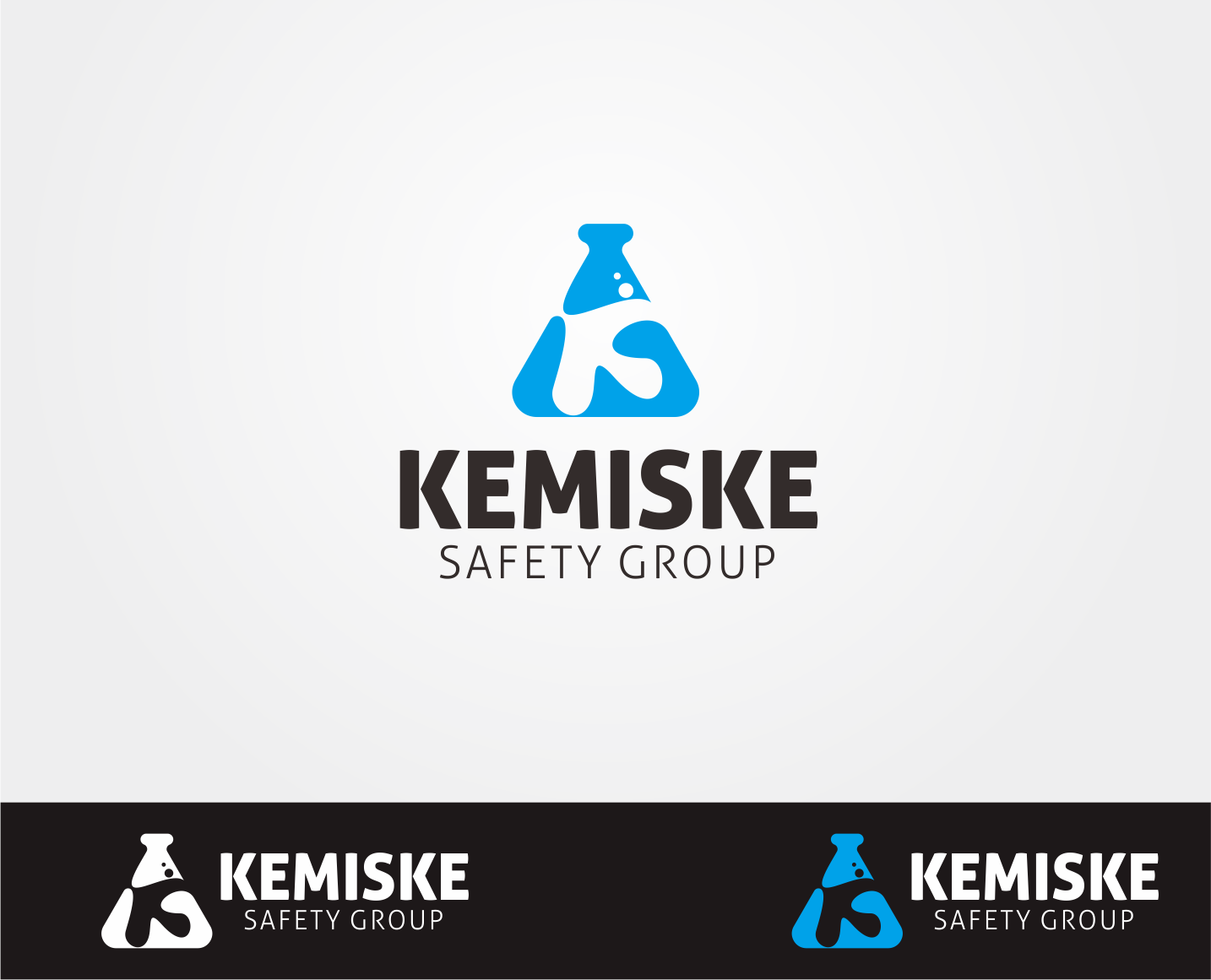 Logo Design by Armada Jamaluddin - Entry No. 160 in the Logo Design Contest New Logo Design for Kemiske Safety Group Inc..