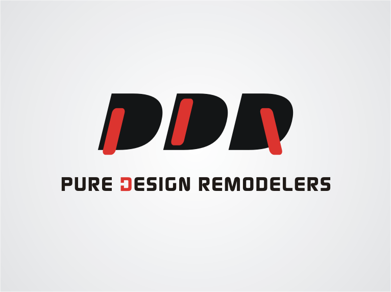 Logo Design by Indra Nugraha - Entry No. 64 in the Logo Design Contest Custom Logo Design for Pure Design Remodelers.