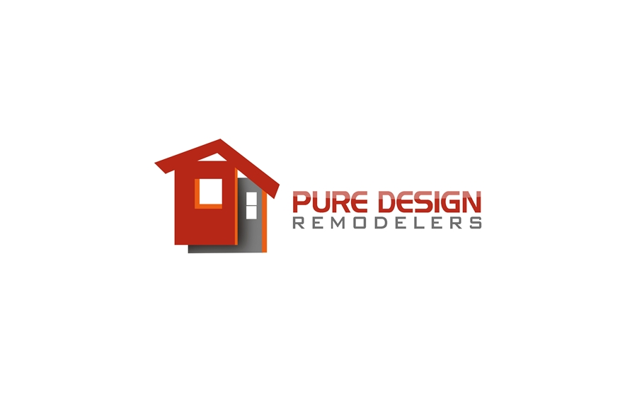 Logo Design by Respati Himawan - Entry No. 65 in the Logo Design Contest Custom Logo Design for Pure Design Remodelers.
