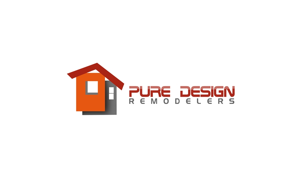 Logo Design by Respati Himawan - Entry No. 66 in the Logo Design Contest Custom Logo Design for Pure Design Remodelers.