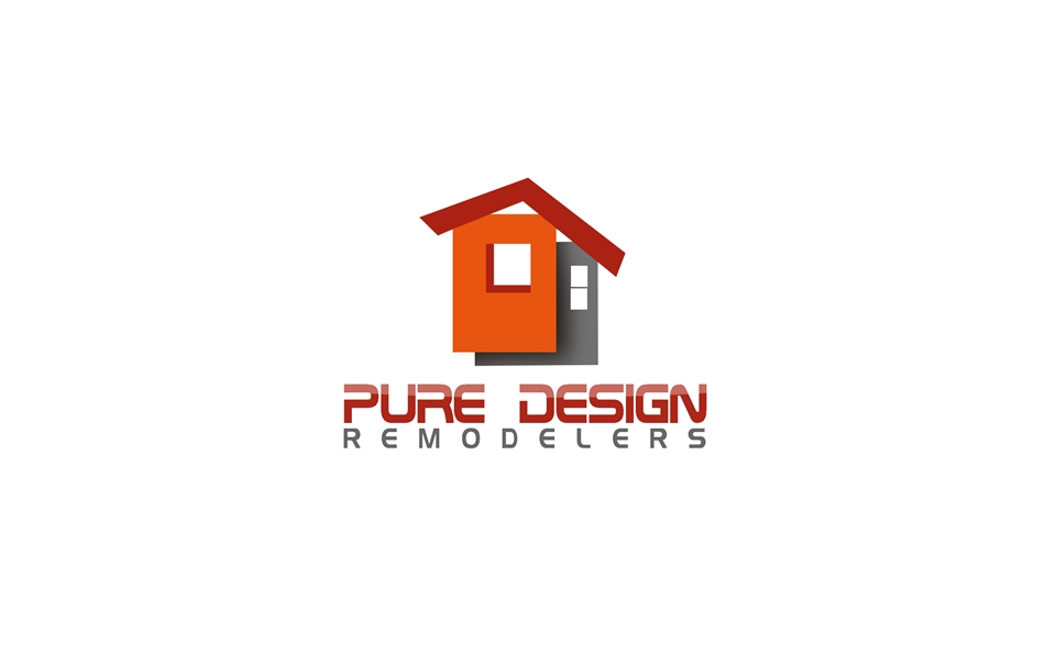 Logo Design by Respati Himawan - Entry No. 67 in the Logo Design Contest Custom Logo Design for Pure Design Remodelers.