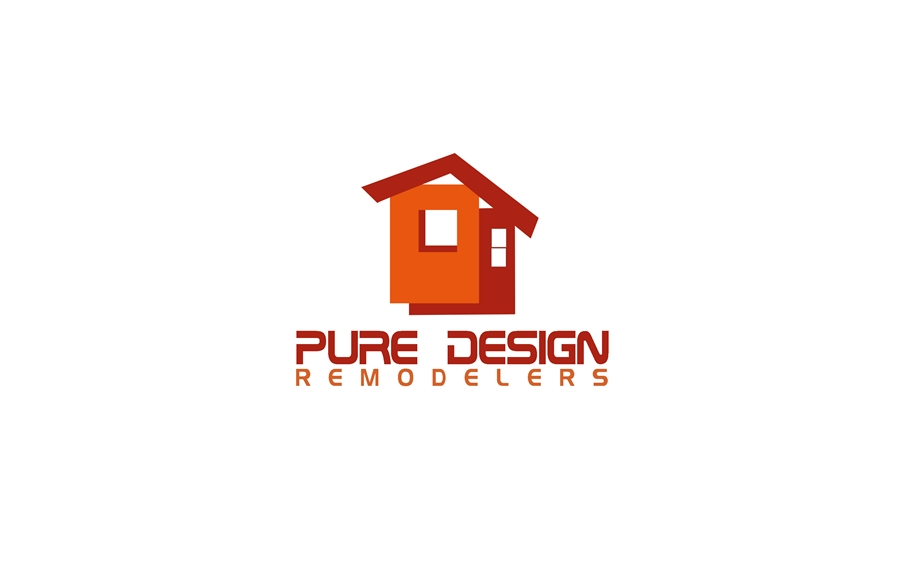 Logo Design by Respati Himawan - Entry No. 68 in the Logo Design Contest Custom Logo Design for Pure Design Remodelers.