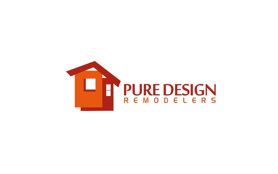 Logo Design by Respati Himawan - Entry No. 69 in the Logo Design Contest Custom Logo Design for Pure Design Remodelers.
