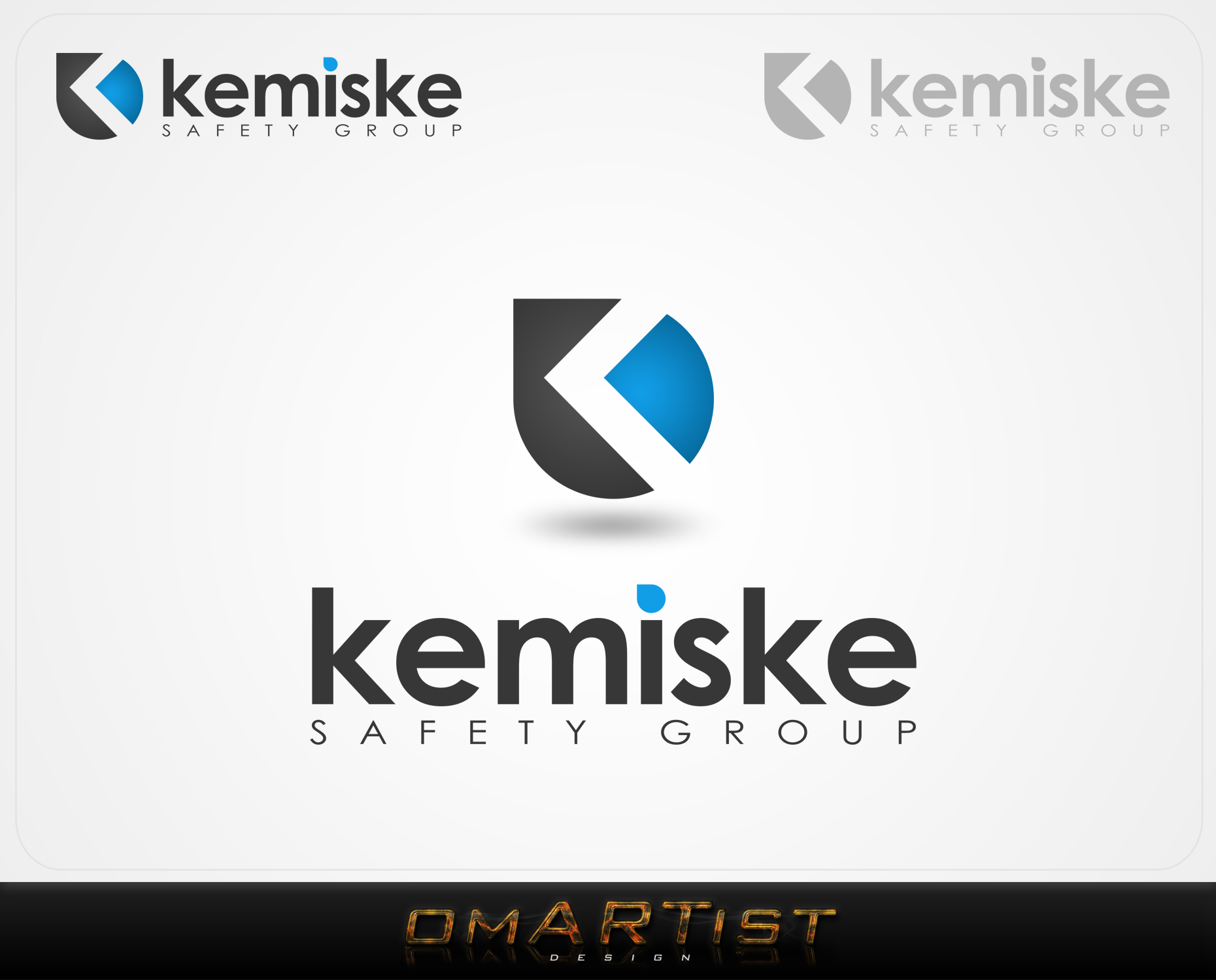 Logo Design by omARTist - Entry No. 166 in the Logo Design Contest New Logo Design for Kemiske Safety Group Inc..