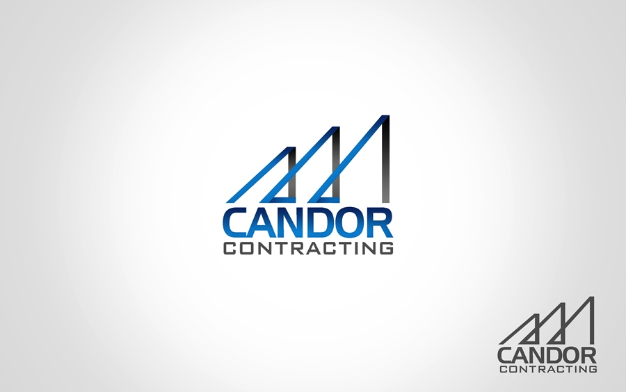 Logo Design by Respati Himawan - Entry No. 38 in the Logo Design Contest Unique Logo Design Wanted for Candor Contracting.