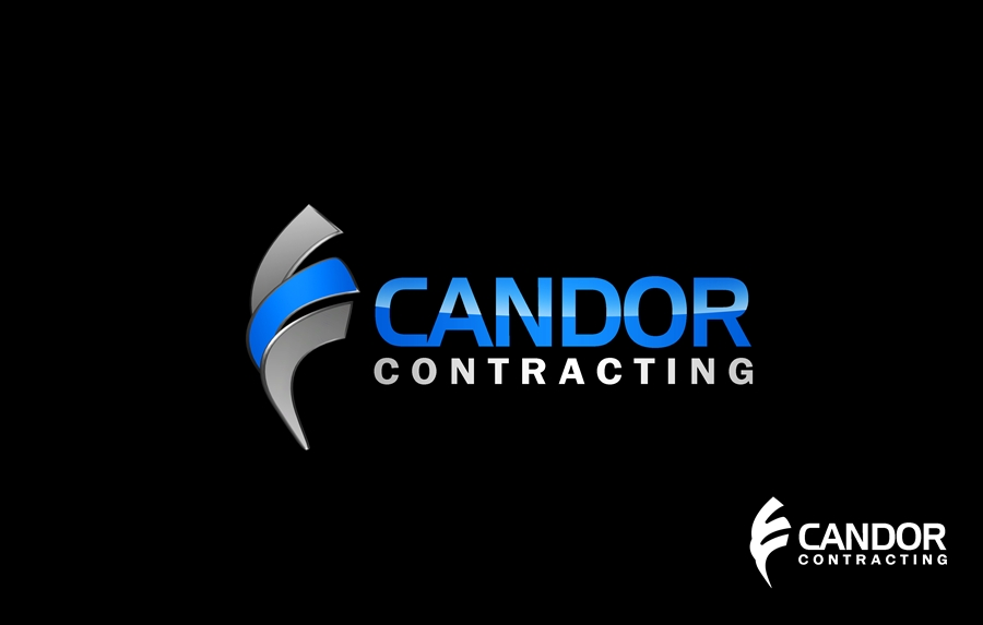 Logo Design by Respati Himawan - Entry No. 39 in the Logo Design Contest Unique Logo Design Wanted for Candor Contracting.